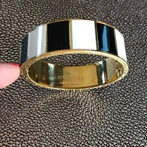 Kate Spade New York Idiom Hinged Bangle Bracelet